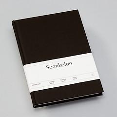 Notizbuch Classic (A5) liniert, Buchleinenbezug, 144 Seiten, black