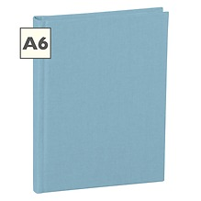 Notizbuch Classic (A6) blanko, Buchleinenbezug, 144 Seiten,ciel