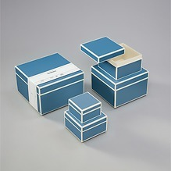 5er Schachtelsatz, grey