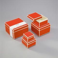 5er Schachtelsatz, orange