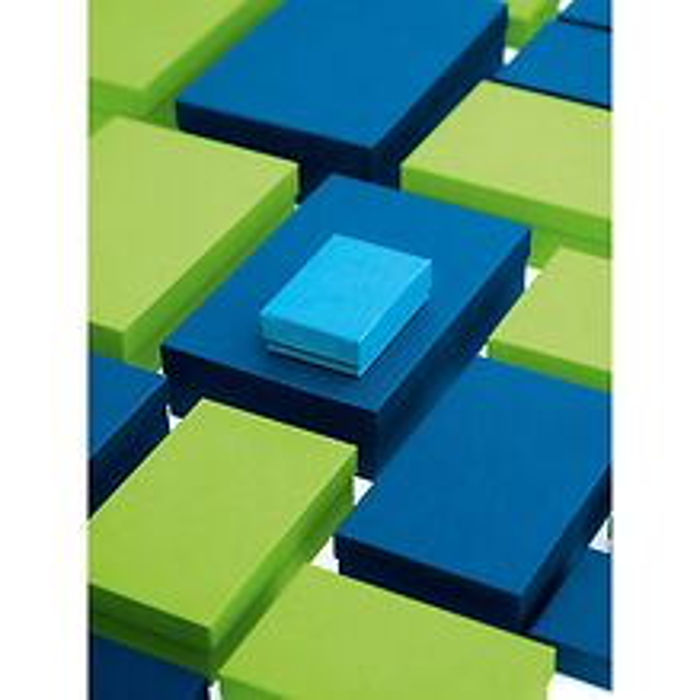 10er Schachtelsatz rechteckig, Efalinbezug, brown