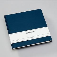 Gästebuch, 240 Seiten, marine