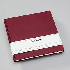 Gästebuch, 240 Seiten, burgundy