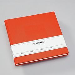 Gästebuch, 240 Seiten, orange