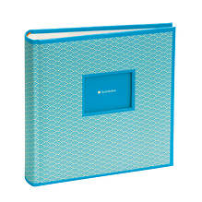 Seigaiha 200 Pocket Album, 100 Seiten, Fotos 10 x 15 cm, turquoise