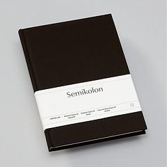 Notizbuch Classic (A5) gepunktet,Buchleinenbezug, 144 Seiten, black