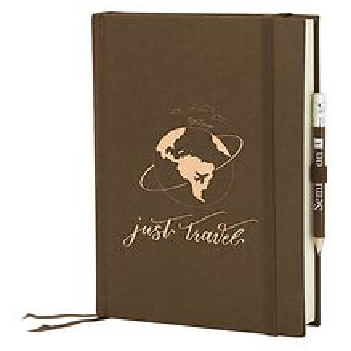 Grand Voyage blanko brown, Just Travel Edition, 272 Seiten