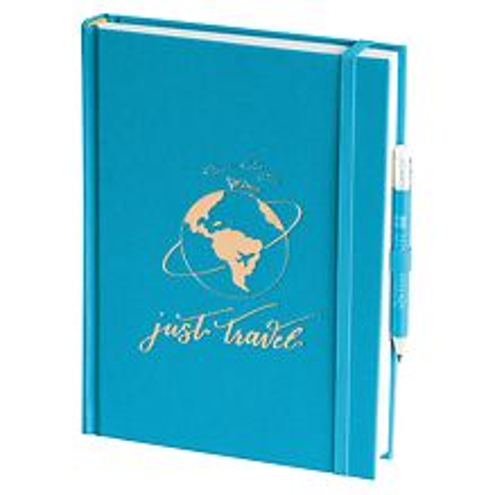 Grand Voyage blanko turquoise, Just Travel Edition, 272 Seiten