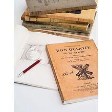 Notizbuch Antiques mit Softcover
