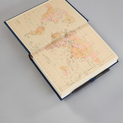 Reisetagebuch 'Grand Voyage' mit Büttenpapier