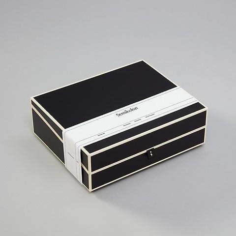 Dokumentenbox A4, black