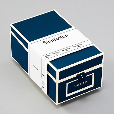 Visitenkartenbox mit Registerset A-Z