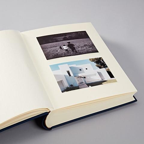 Fotoalbum Large in Buchleinen