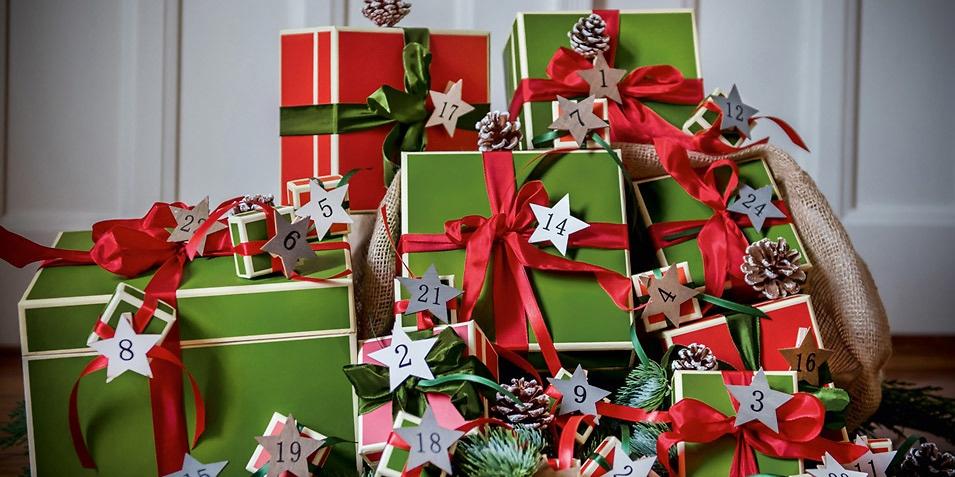 Weihnachten in Boxen